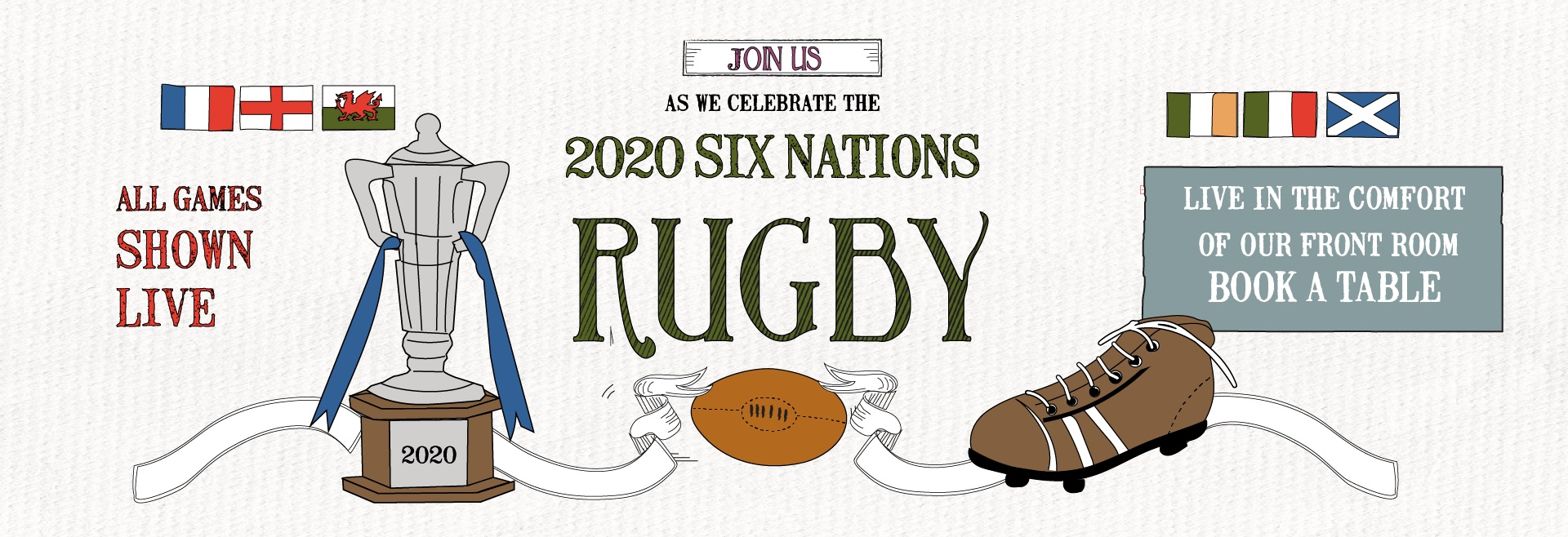 Six Nations at The Ranelagh