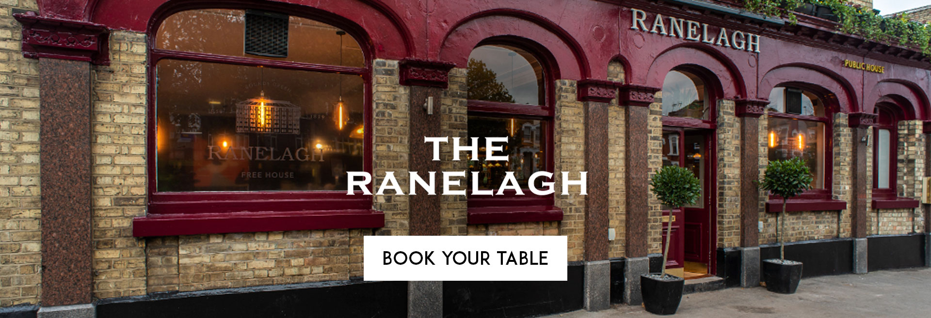 Book Your Table at The Ranelagh